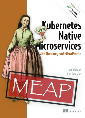 Kubernetes Native Microservices with Quarkus and MicroProfile ebook cover