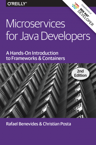 Microservices for Java Developers book cover