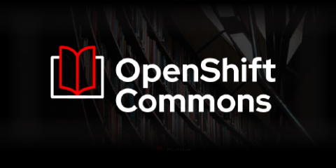 OpenShift Commons promo graphic