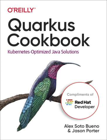 Quarkus Cookbook cover