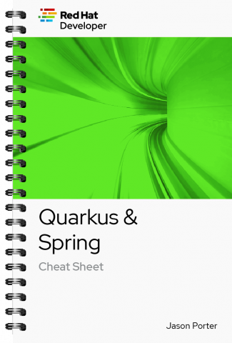 Quarkus + Spring Cheat sheet