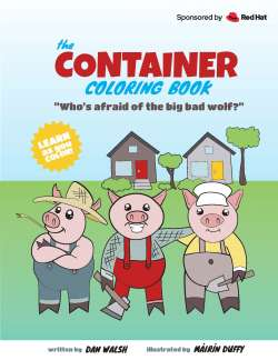 Container Coloring Book cover