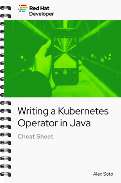 Writing a kube operator in Java Cheat Sheet cover