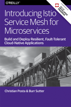 Book Cover - Introducing Istio Service Mesh for Microservices