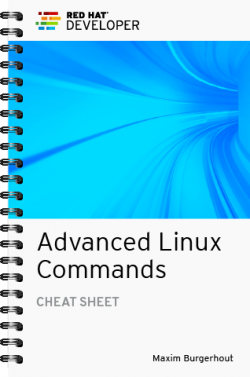 Cover image for the Advanced Linux Commands cheat sheet