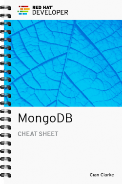 Cover image for the MOngoDB cheat sheet