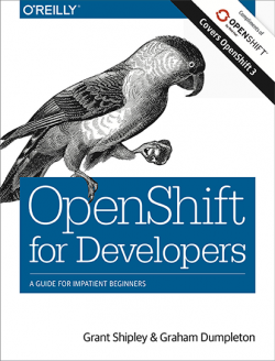 OpenShift for Developers Book Cover