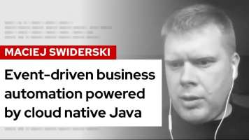 Event-driven business automation powered by cloud native Java | DevNation Live