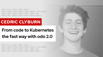 From code to Kubernetes the fast way with odo 2.0 | DevNation Tech Talk